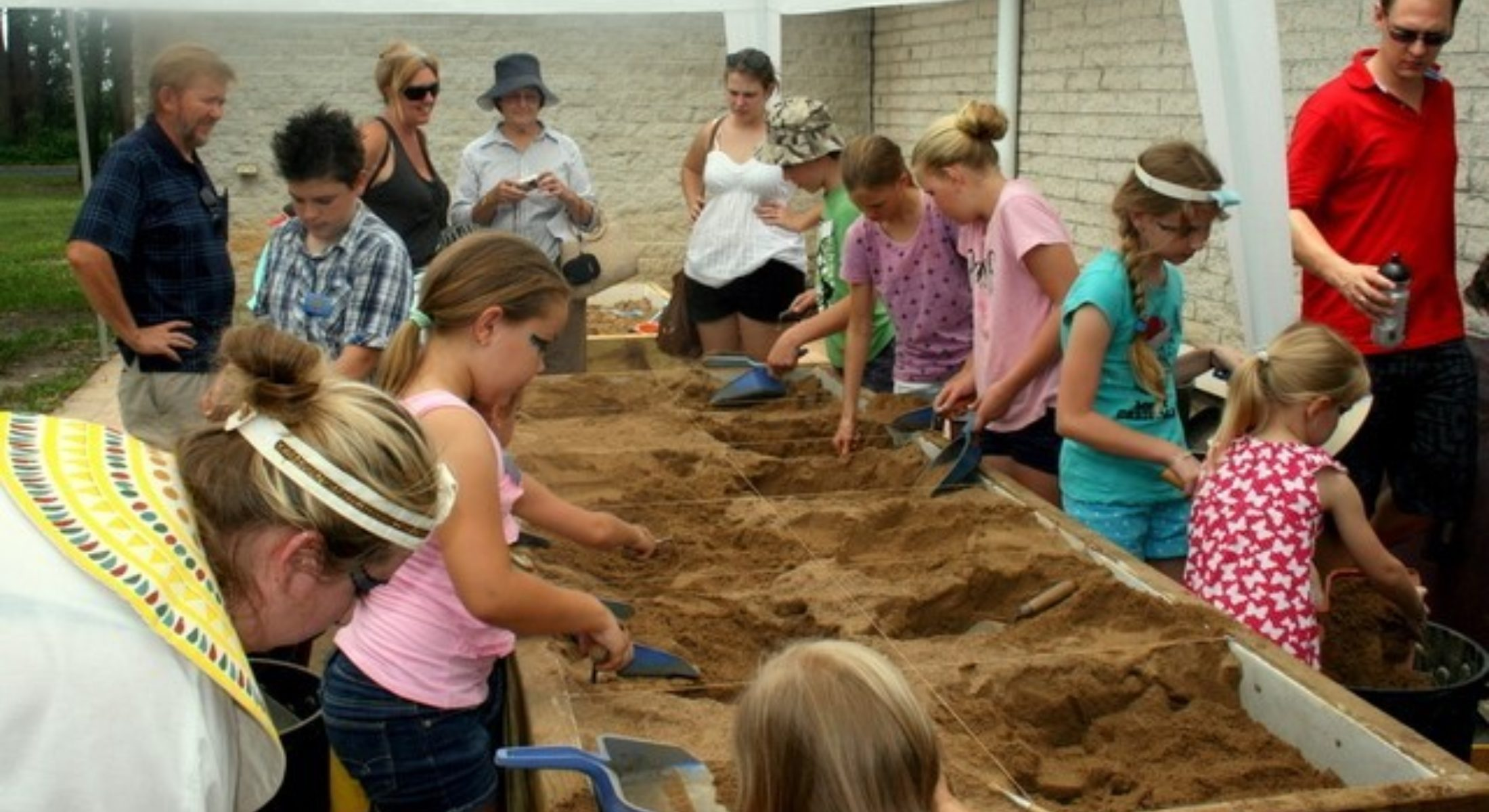 Kids Dig It Group Abbey Museum School Holiday Activities Moreton Bay Region