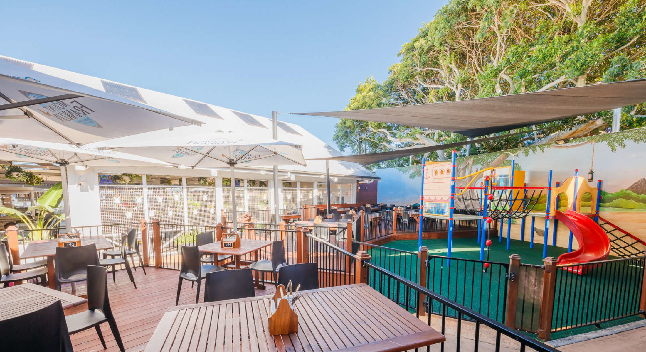 The Belvedere Hotel Moreton Bay Region Family Friendly Park Kids Meal