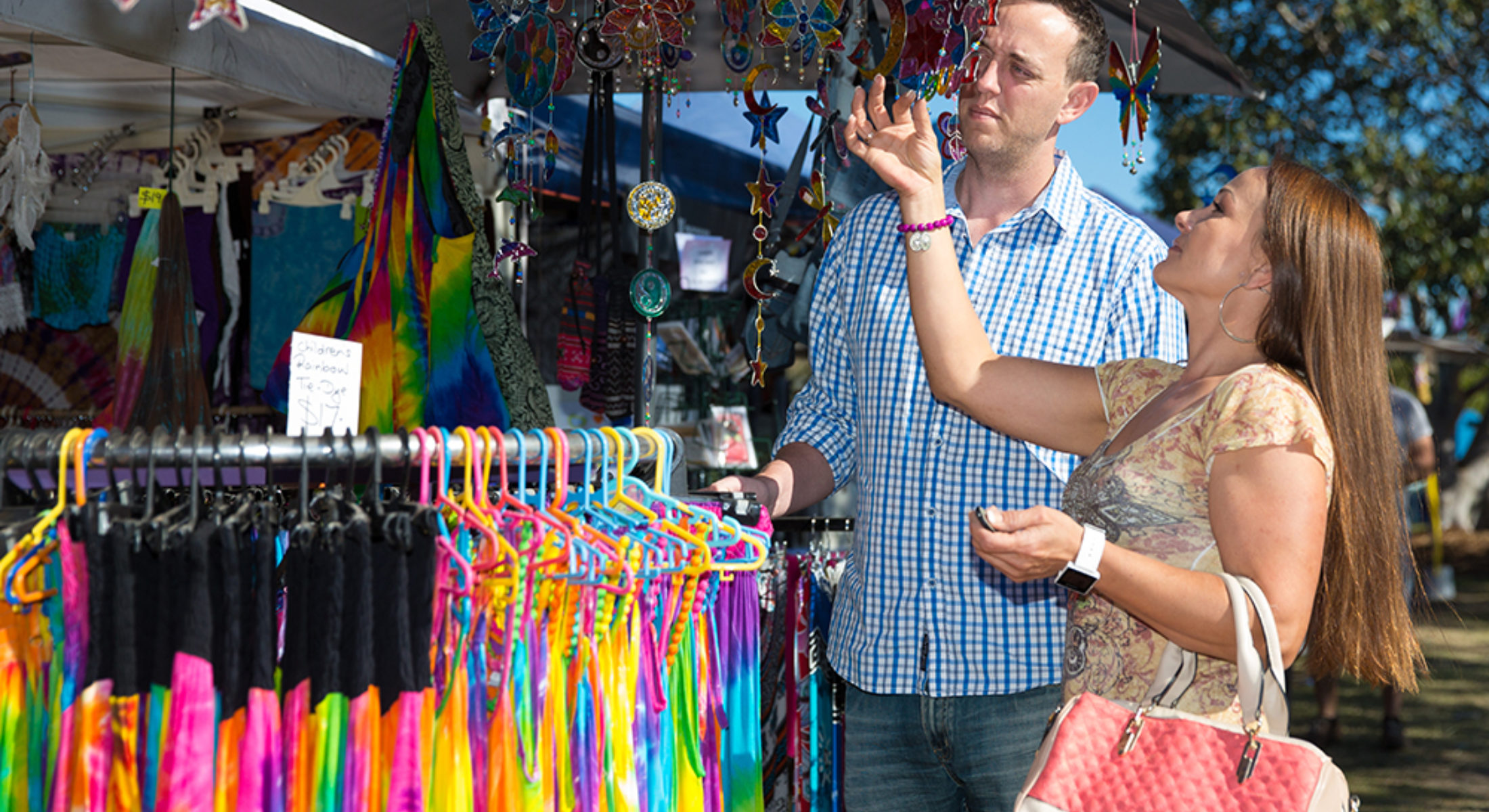 Market Stall Shoppers Moreton Bay Region Events