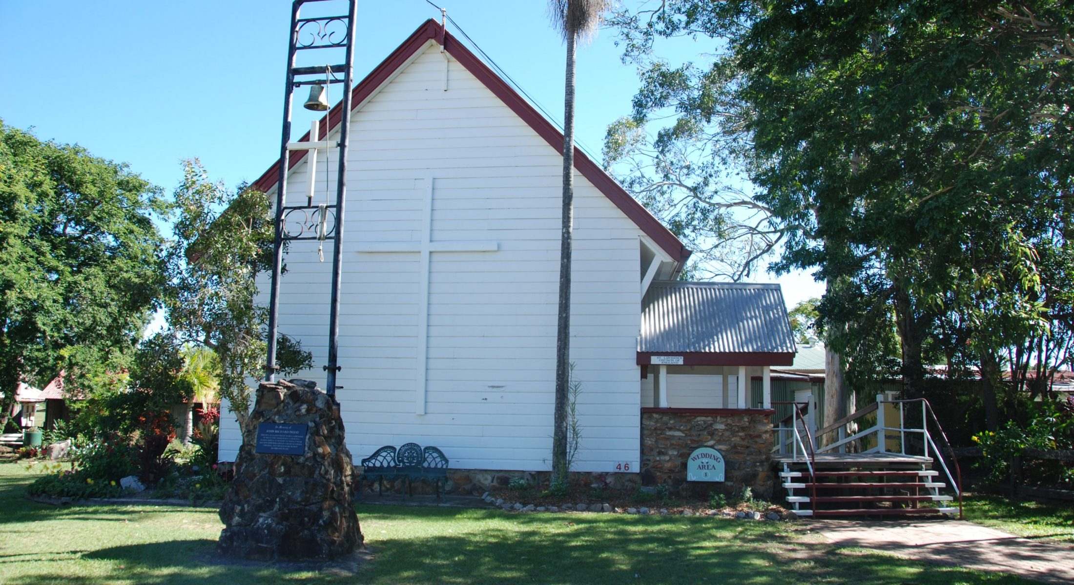 Caboolture Historical Village Moreton Bay Region Garden And Church Wedding Venue