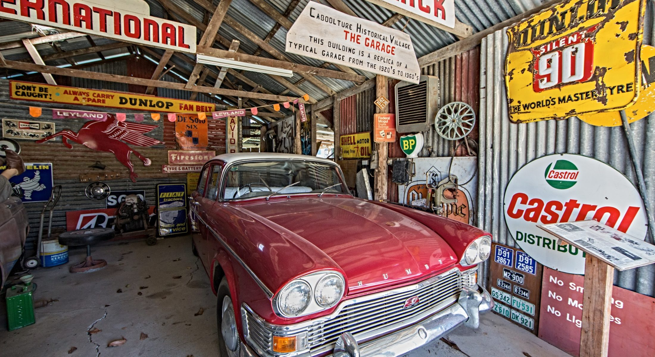 Caboolture Historical Village Cars Garage Moreton Bay Region