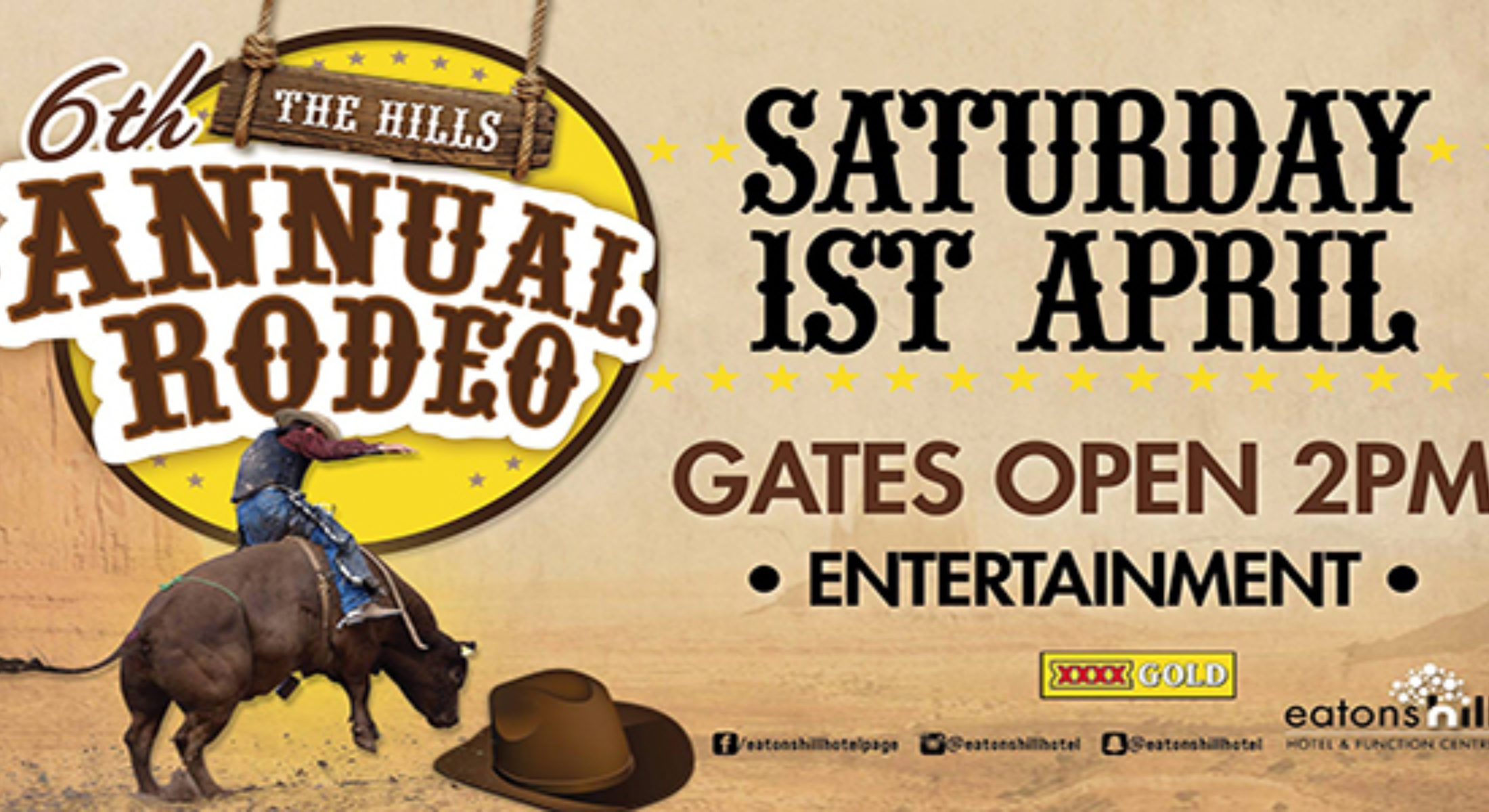 Eatons Hill Sixth Annual Rodeo Moreton Bay Region