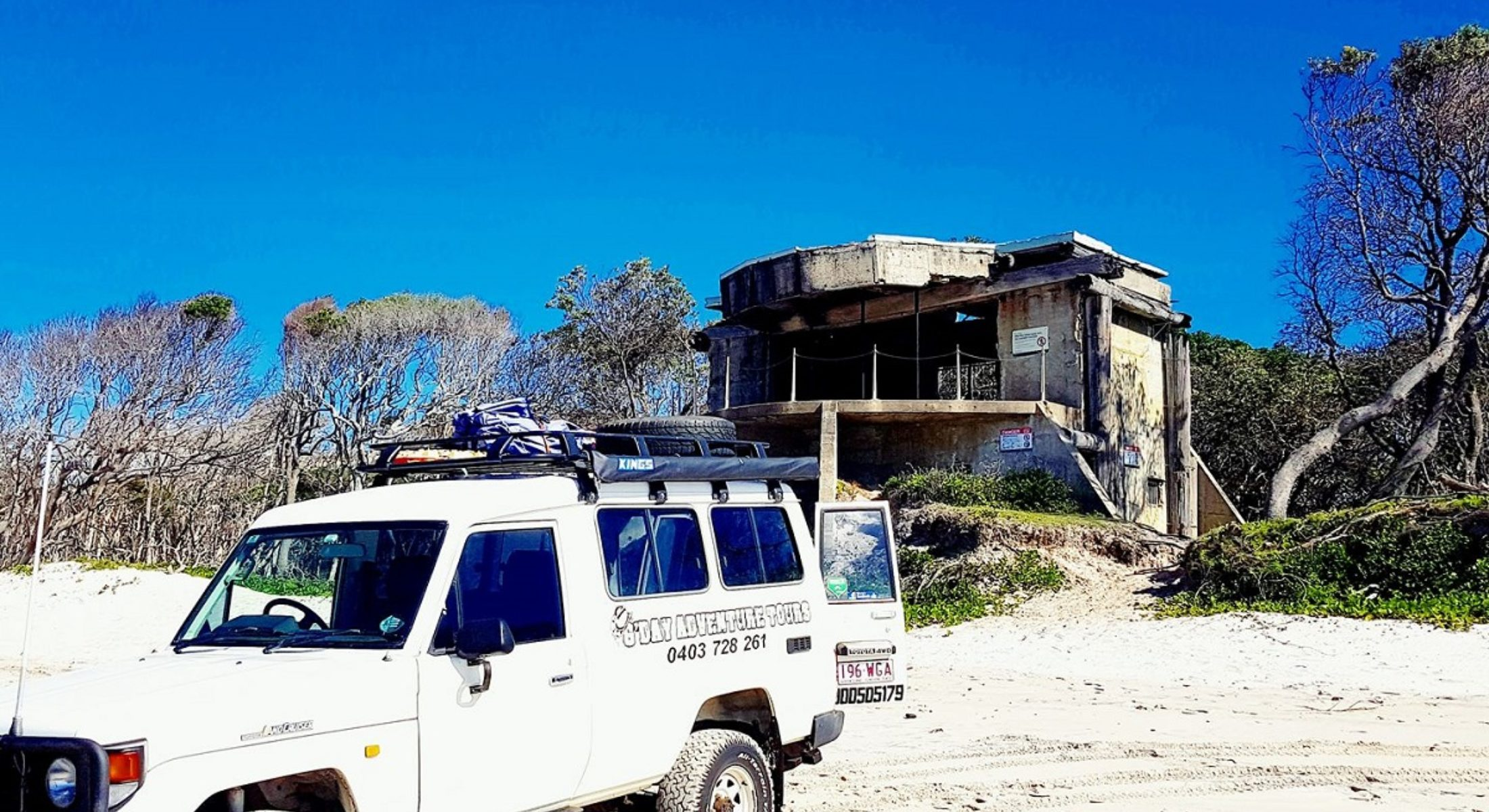 Gday Adventure Tours Bribie Island Tours On Beach Moreton Bay Region