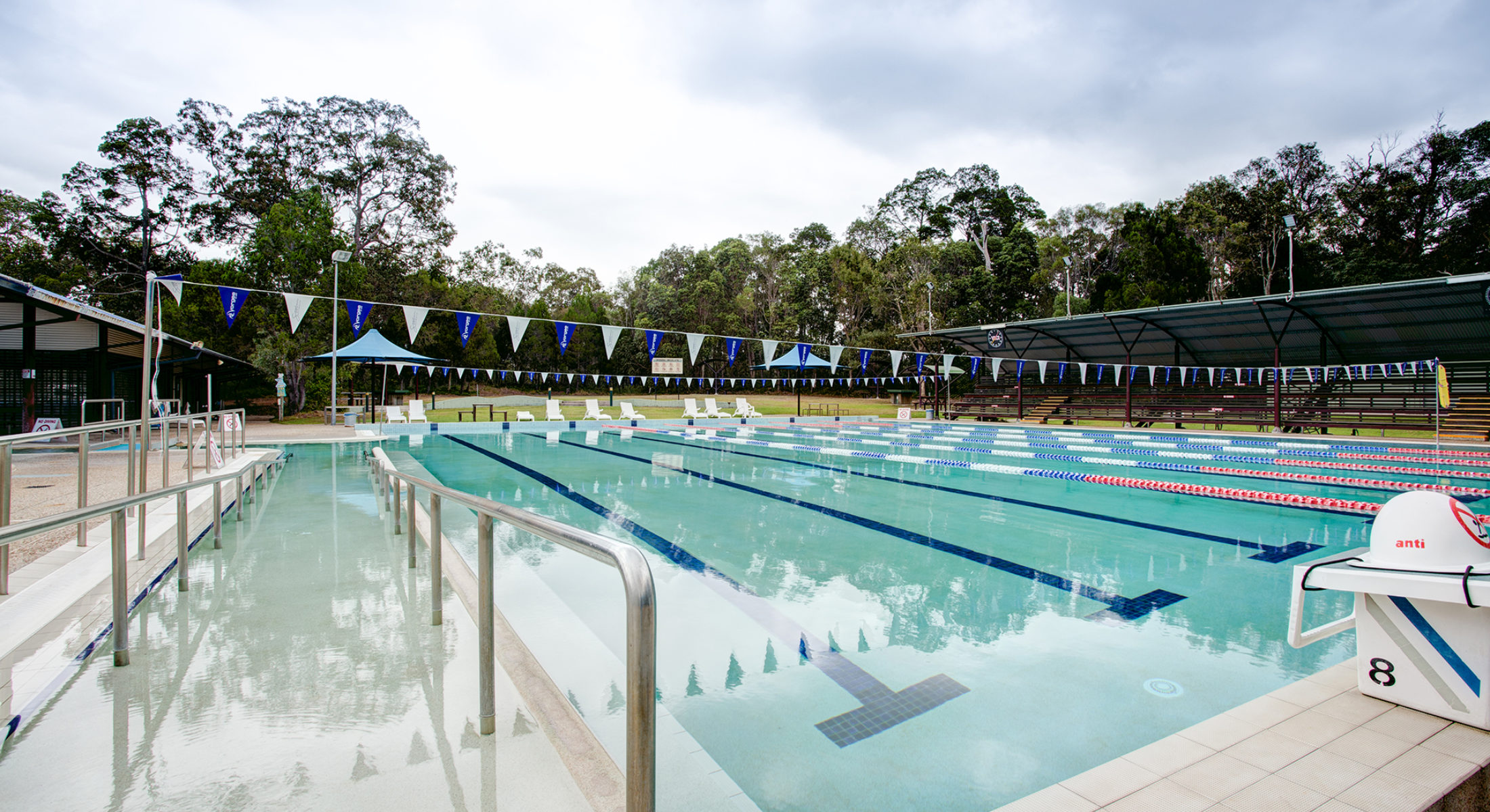 Bribie Island Aquatic Centre Outdoor Pool Lanes