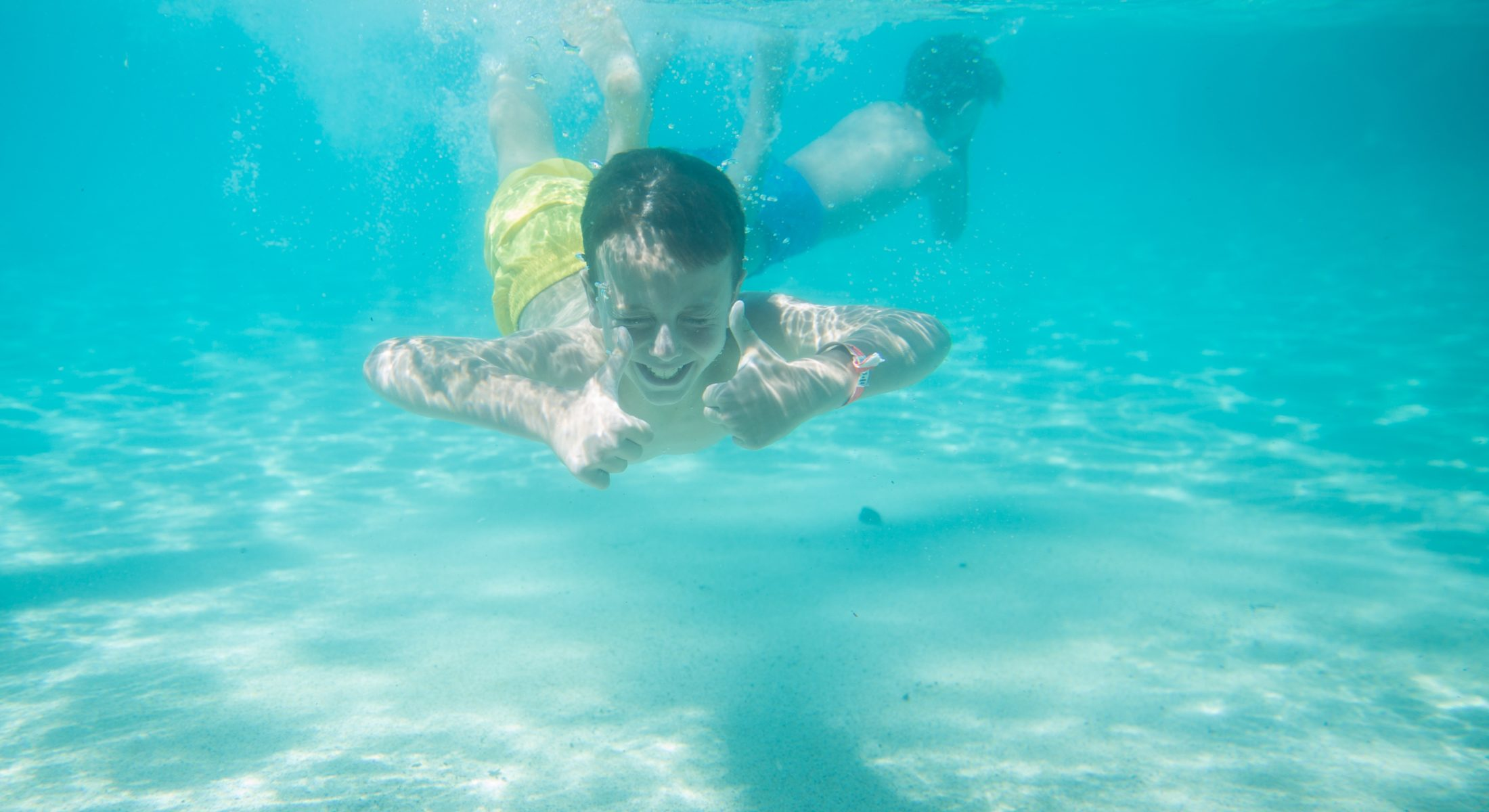 Settlement Cove Redcliffe Lagoon Swimming With The Kids Summertime Underwater Moreton Bay Region