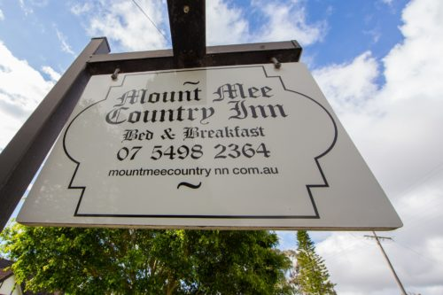 Mount Mee Country Inn Entry Sign Moreton Bay Region