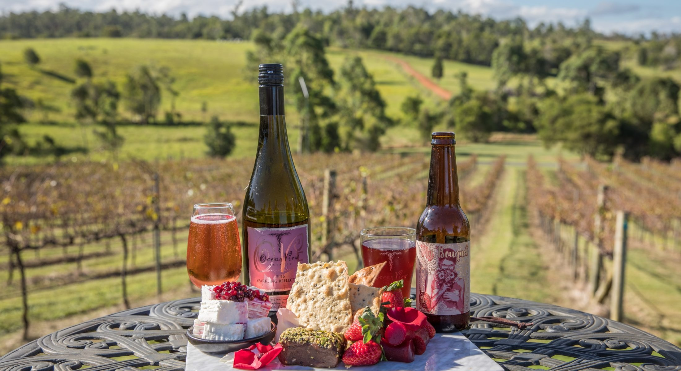 Cheese Strawberries Ocean View Estates Food Moreton Bay Region