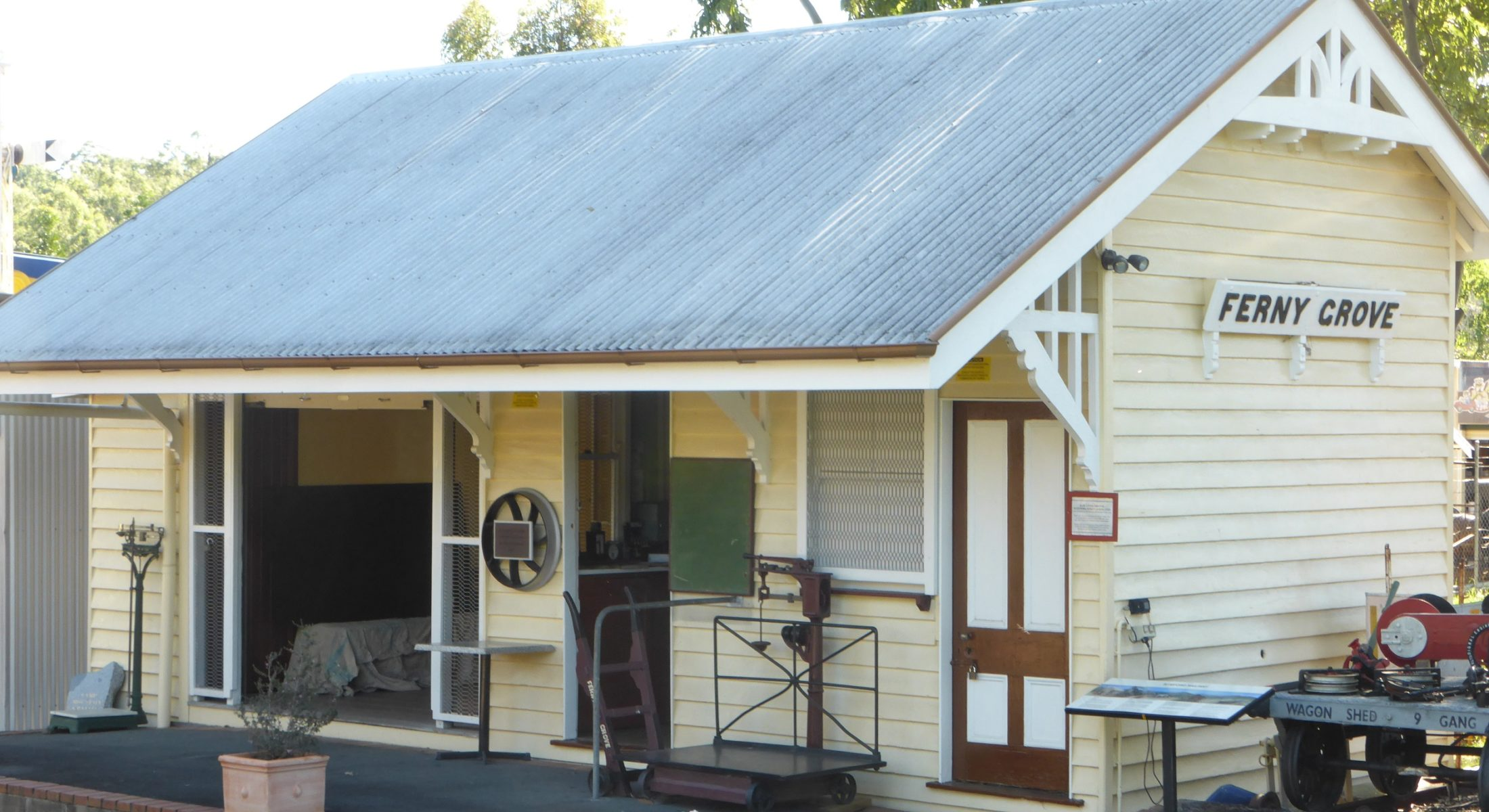 Old Ferny Grove Station Samford Museum Moreton Bay Region