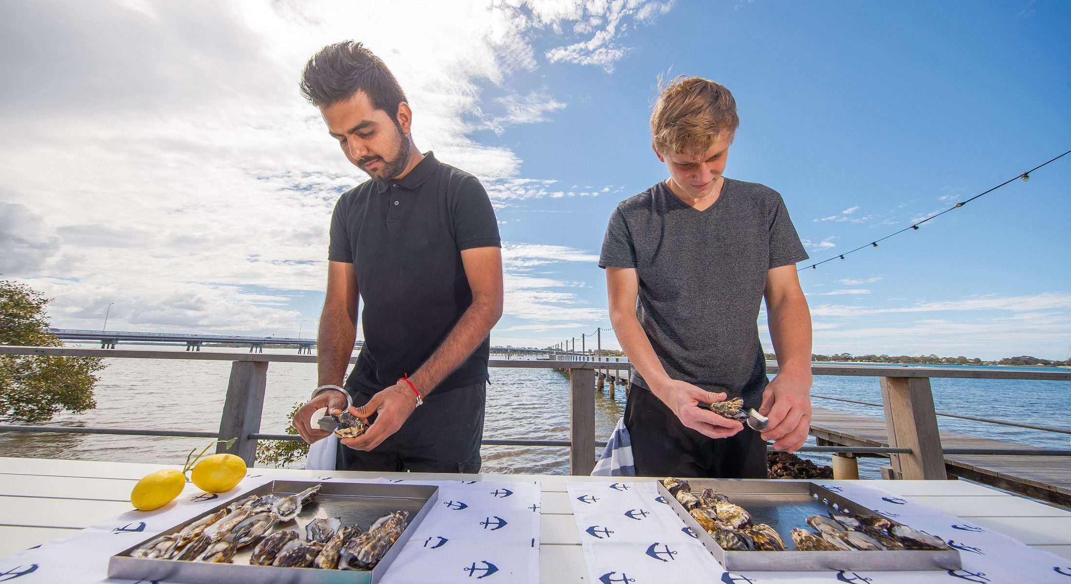Have a shucking good time at the Oyster Festival at Sandstone Point Hotel