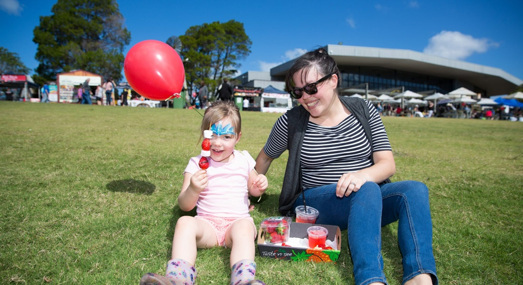 Sandstone Point Hotel Strawberry Festival Free Family Event Local Strawberries Moreton Bay Region