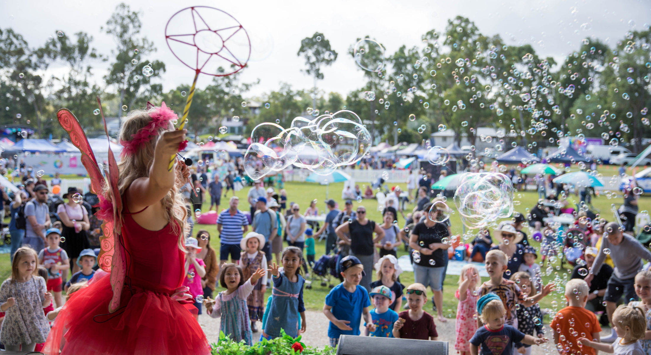 Hills Carnivale Flutter The Fairy 2018 Visit Moreton Bay Region