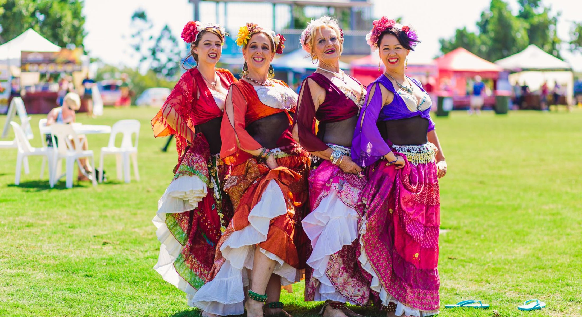 Enjoy the colours, sounds and sights of the Moreton Bay Multicultural Fiesta