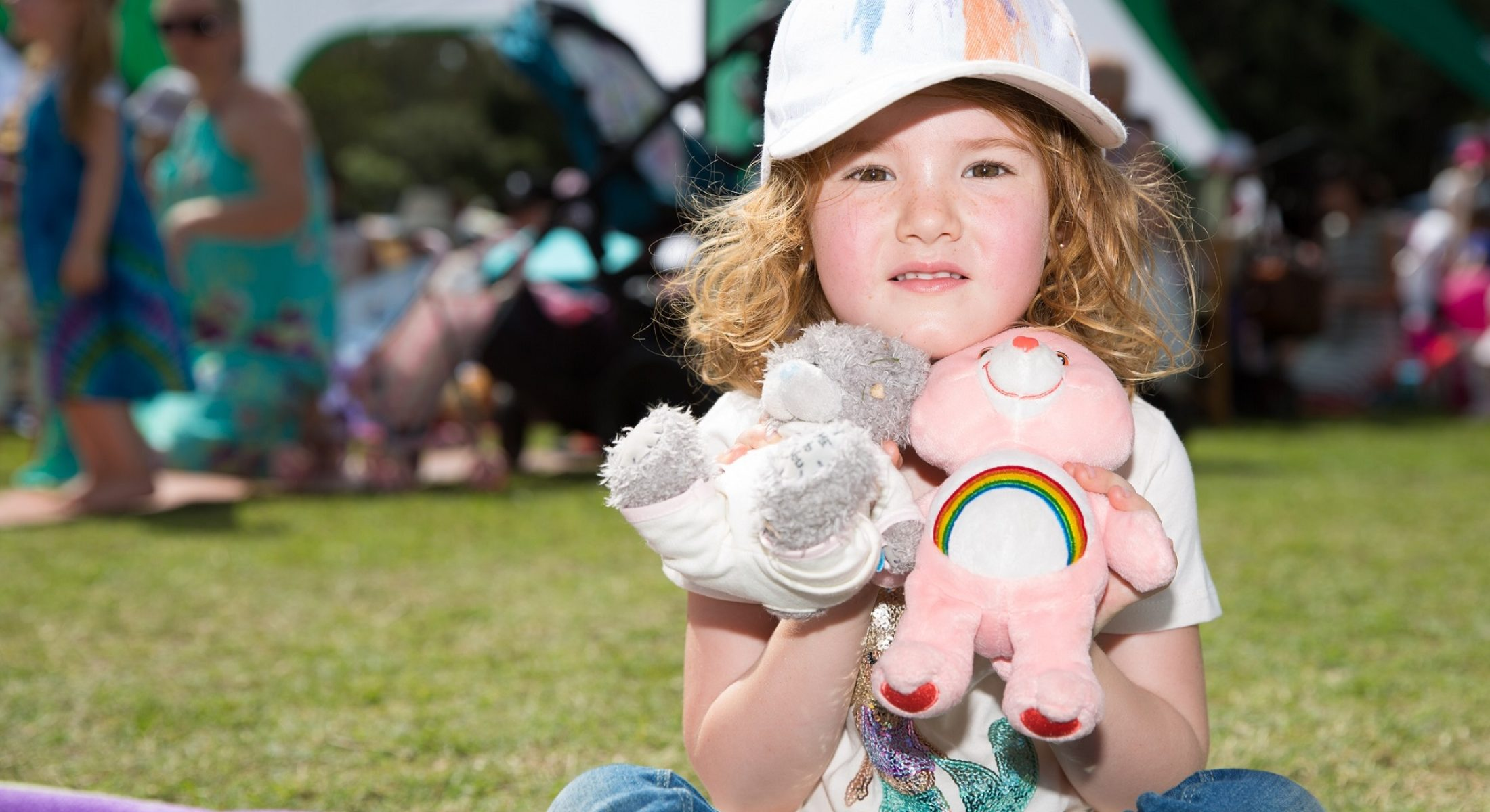 Teddy Bears Picnic Kid With Bears Moreton Bay Region